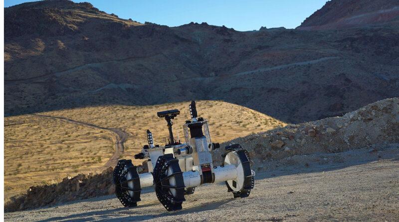 DuAxel, robot de la NASA