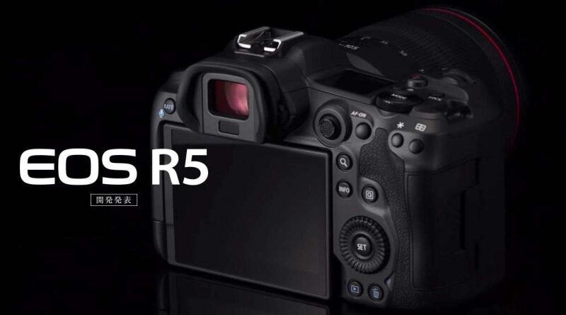 La nueva cámara, Canon EOS R5