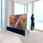 Nuevo televisor enrollable de LG