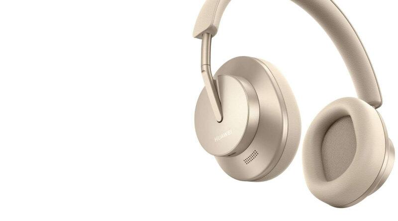 Nuevos audifonos de diadema de Huawei, los FreeBuds Studio