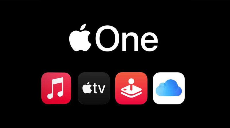 Nueva aplicación de Apple, Apple One