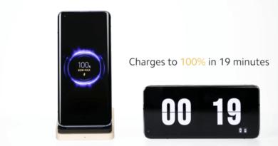 La carga inalámbrica de Xiaomi logra un 100% en 19 minutos
