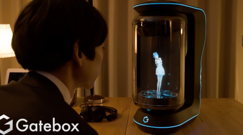 Gatebox, una asistente virtual holografía