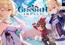 Genshin impact portada de juego