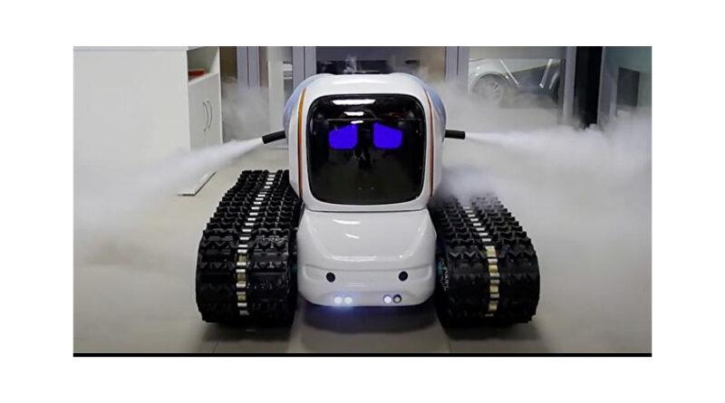 Gardy, el robot desinfectante