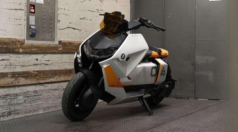 Moto eléctrica de BMW, la Motorrad Definition CE 04