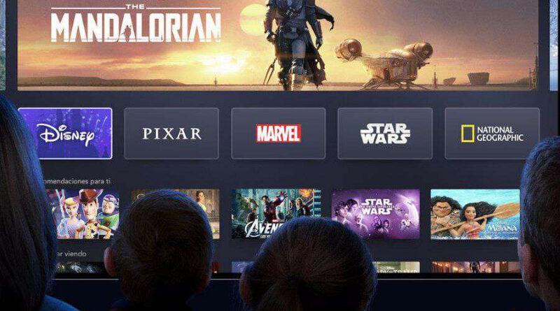 La plataforma de streaming Disney Plus