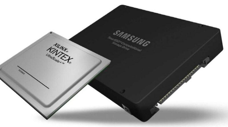 Procesador de almacenamiento Samsung SmartSSD CSD