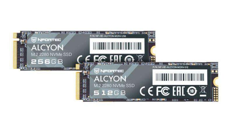Unidad SSD Nfortec Alcyon M.2 NVMe