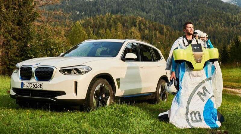 Traje volador de BMW