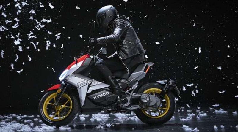 Scooter eléctrico Kymco F9