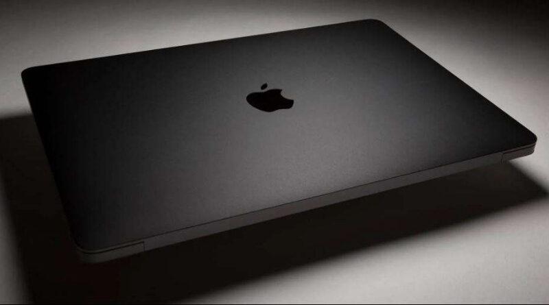Portatil MacBook negro mate