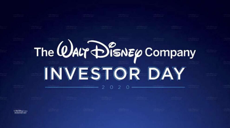 Evento de Disney Investor Day 2020