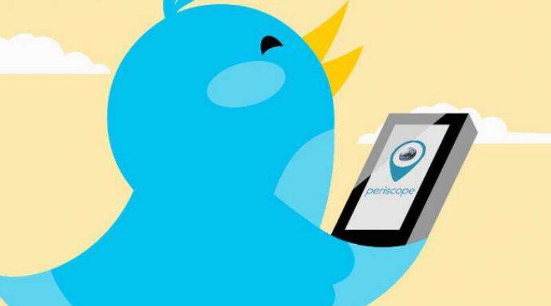 Twitter cierra la app Periscope