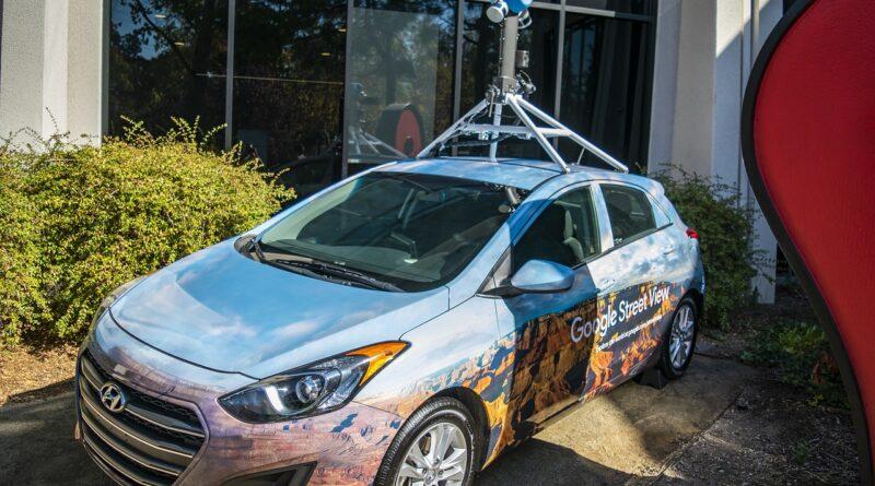 Automóvil destinado a Street View
