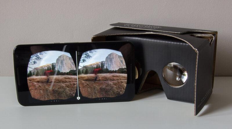 Diseño de las gafas Google cardboard