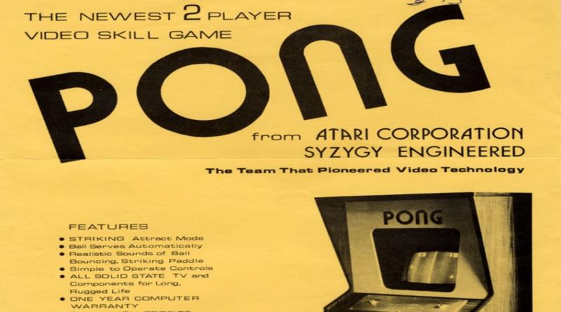 Bolante del lanzamiento del prototipo de pong