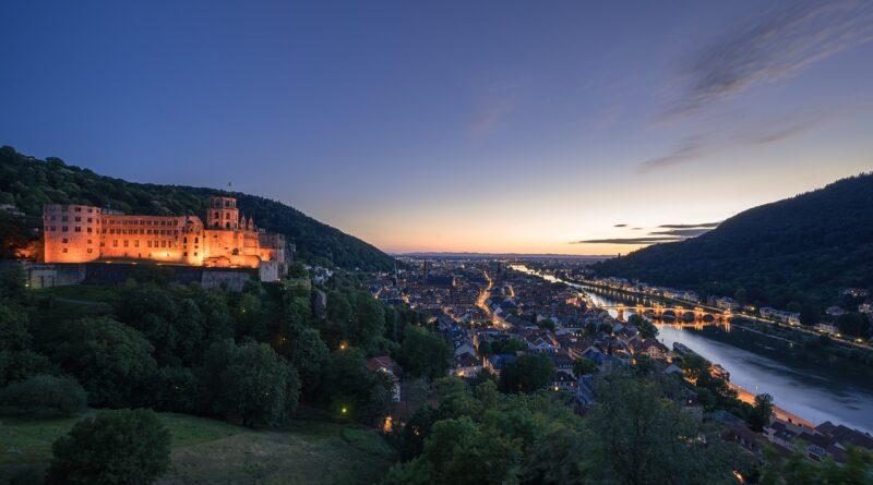 Hora Azul en el castillo Heidelberg